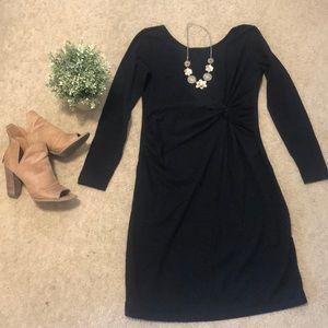 OLD NAVY Black Maternity Dress